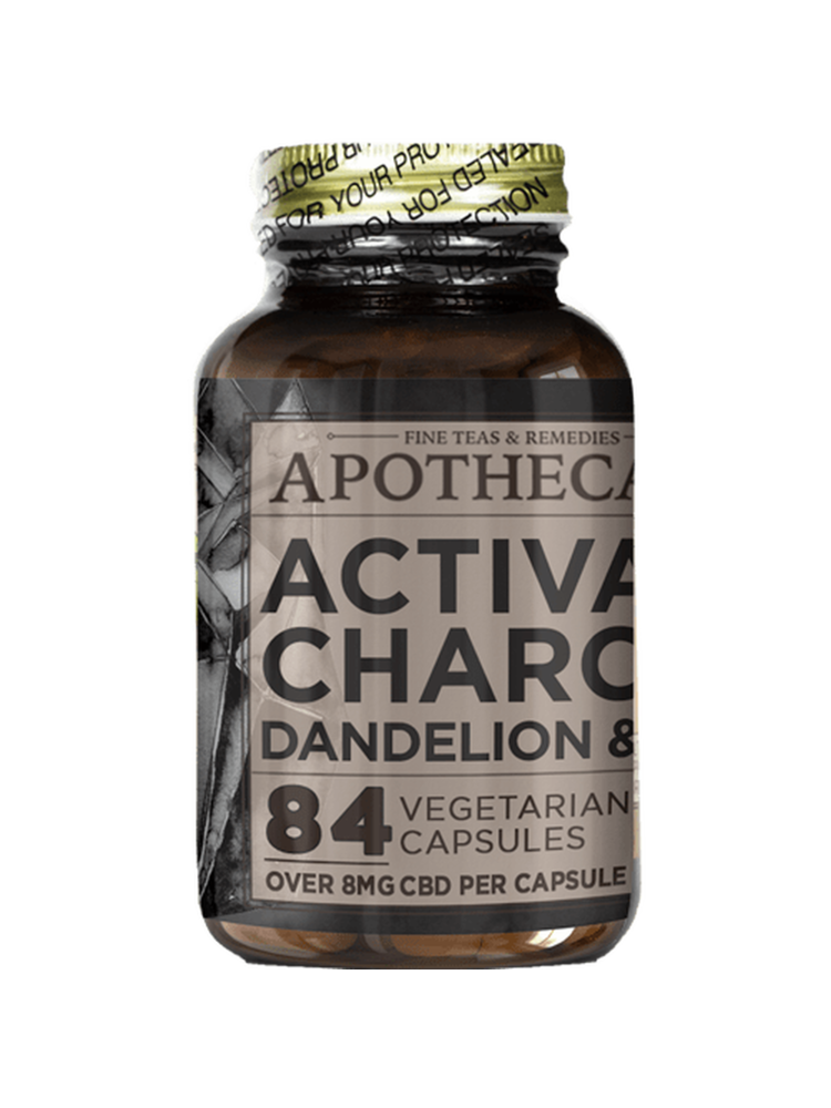 The Brothers Apothecary The Brothers Apothecary Activated Charcoal Cleanse 84cp