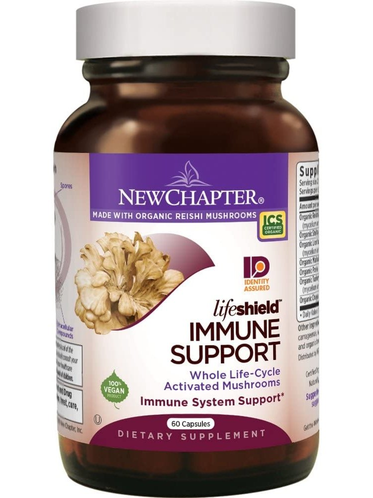 NEW CHAPTER New Chapter LifeShield Immune Support 60vc