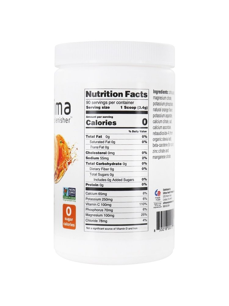 Ultima Replenisher Ultima Orange Canister, 90 servings