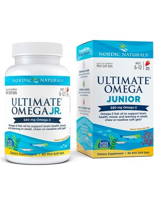 Nordic Naturals Nordic Naturals Ultimate Omega Jr, 90ct