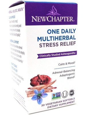 NEW CHAPTER New Chapter One Daily Multiherbal Stress, 30ct