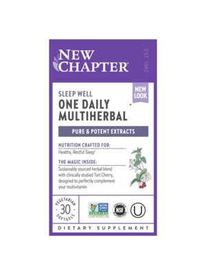 NEW CHAPTER New Chapter One Daily Multiherbal Sleep 30ct