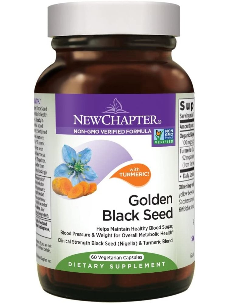 NEW CHAPTER New Chapter Golden Black Seed, 60vc