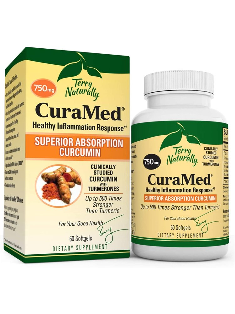 TERRY NATURALLY Terry Naturally Curamed 750mg 60ct