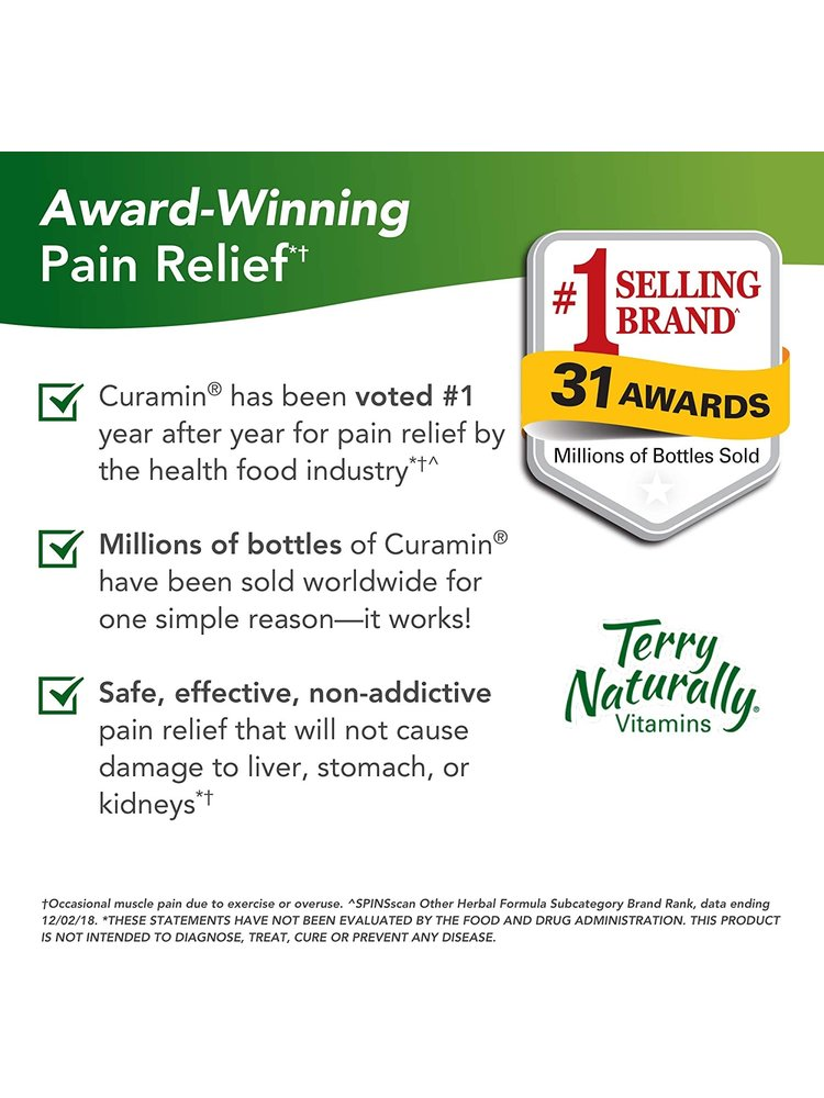 TERRY NATURALLY Terry Naturally Curamin, 120ct