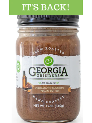 Georgia Grinders Georgia Grinders Pecan Butter, Seasonal Chocolate Bourbon, 12oz.