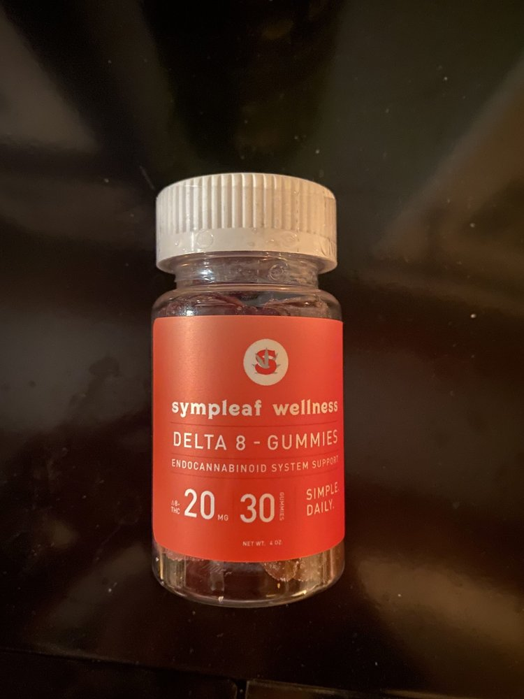 Georgia Hemp Company Georgia Hemp Co. Sympleaf D8 20mg Gummies, 30ct