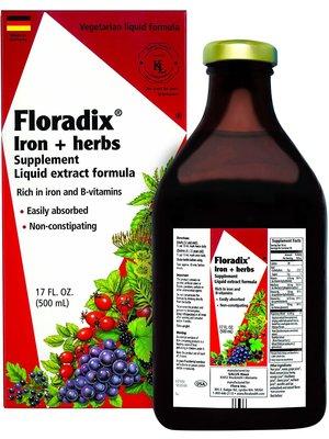 Flora Flora Floradix Iron & Herbs, Vegetarian, 17oz.
