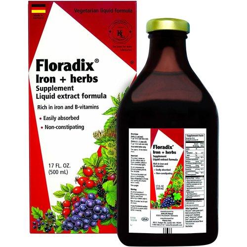 Flora Flora Floradix Iron & Herbs 17oz.