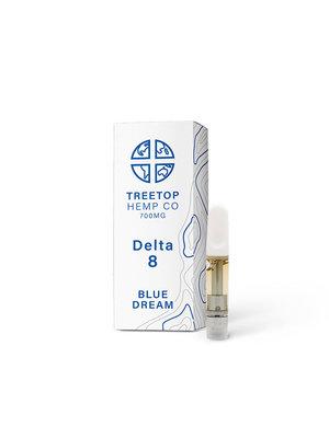 Treetop Hemp Treetop Hemp, D8 Vape Cartridge, Blue Dream, 1 gram, 800mg