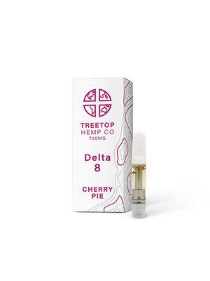 Treetop Hemp Treetop Hemp, D8 Vape Cartridge, Cherry Pie, 1 gram, 800mg