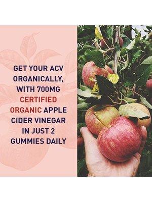 Garden of Life GoL MyKind Organics Apple Cider Vinegar Probiotic Gummies, Organic, 60ct