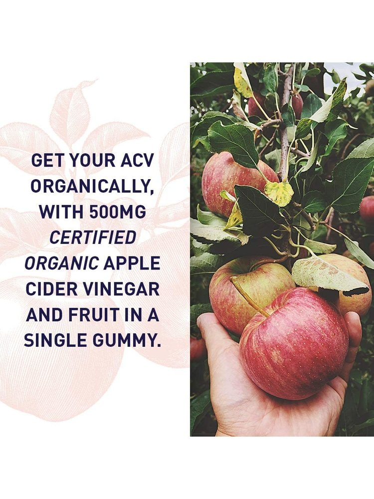 Garden of Life GoL myKind Organics Apple Cider Vinegar Gummies, Organic, 60ct