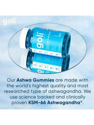 Goli Goli Nutrition Ashwaganda Gummies, 60ct.