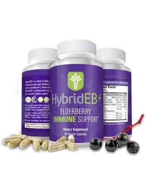 Hybrid Remedies Hybrid Defense HybridEB Complete Elderberry Immune, 60cp