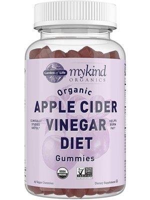 Garden of Life GoL myKind Organics Apple Cider Vinegar Diet Gummies, Organic, 60ct