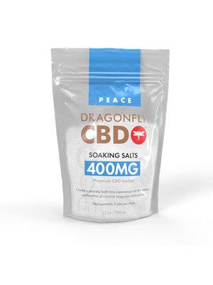Dragonfly Dragonfly CBD Bath Salts, 400mg, 12oz.