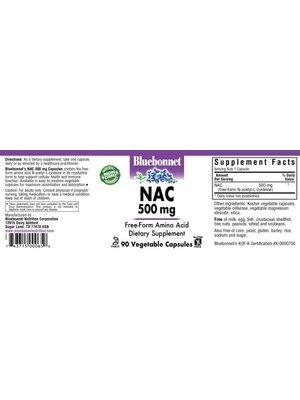 Bluebonnet Bluebonnet NAC 500mg, 90vc