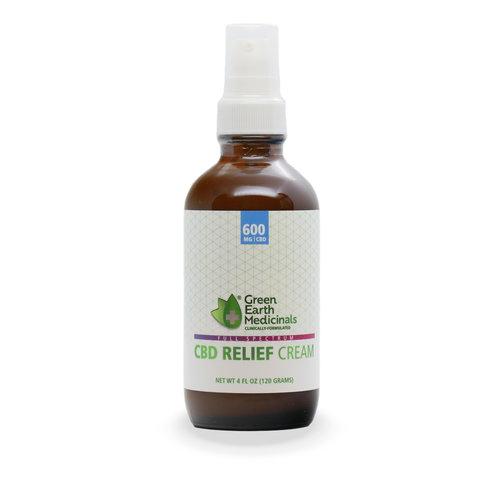 GREEN EARTH MEDICINALS Green Earth Medicinals Relief Cream, 4oz