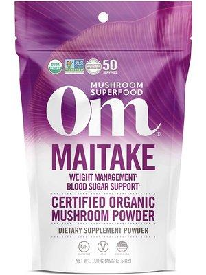 OM Mushroom Om Mushroom Maitake Mushroom Superfood Powder, 100g
