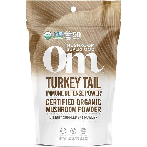 OM Mushroom Om Mushroom Turkey Tail Mushroom Superfood Powder, 100g