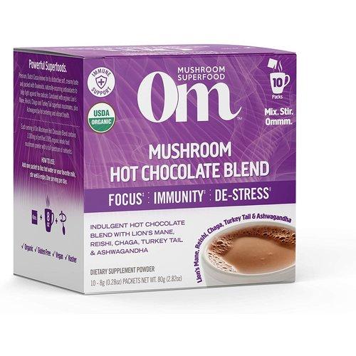 OM Mushroom Om Mushroom Powdered Hot Chocolate, 10ct