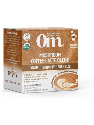 OM Mushroom Om Mushroom Powdered Coffee Latte, 10ct