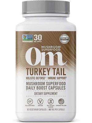 OM Mushroom Om Mushroom Turkey Tail Mushroom Superfood, 90cp