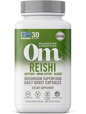 OM Mushroom Om Mushroom Reishi Mushroom Superfood, 90cp
