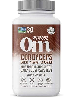 OM Mushroom Om Mushroom Cordyceps Mushroom Superfood, 90cp