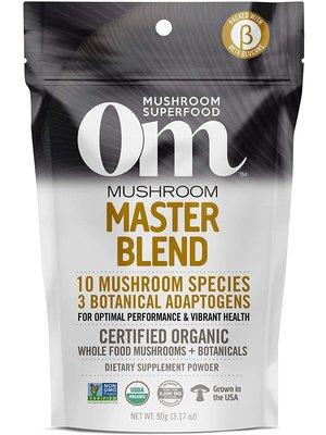 OM Mushroom Om Mushroom Masterblend Powder, 90G