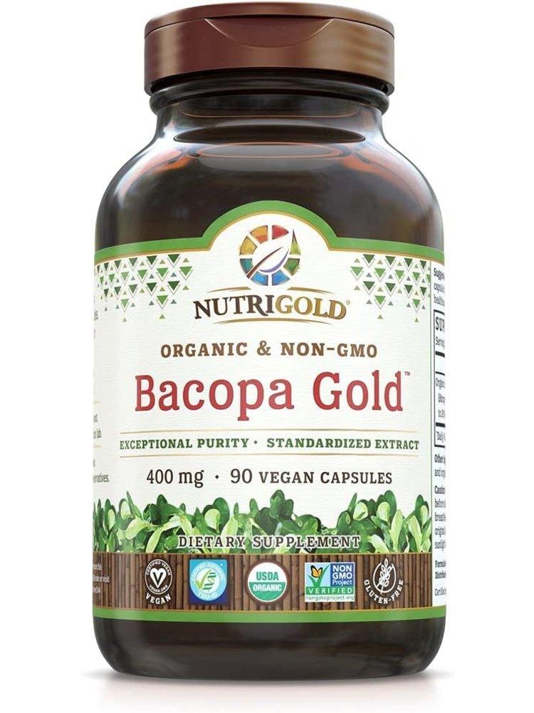 Nutrigold Nutrigold Bacopa Gold, 90vc