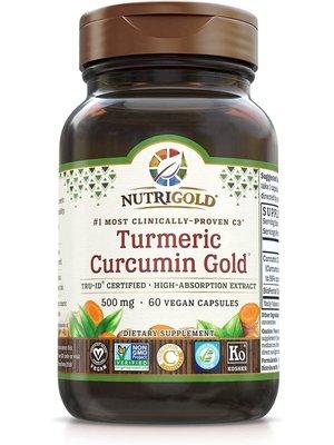 Nutrigold Nutrigold Turmeric Curcumin Gold, 60vc