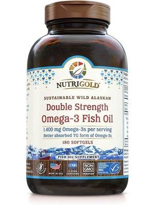Nutrigold Nutrigold Double Strength Omega-3 Fish Oil, 60sg