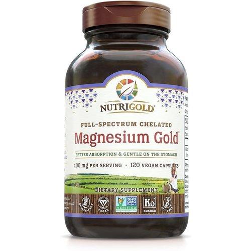 Nutrigold Nutrigold Magnesium Gold, 120vc