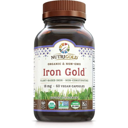 Nutrigold Nutrigold Iron Gold, 60vc