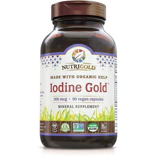 Nutrigold Nutrigold Iodine Gold, 90vc