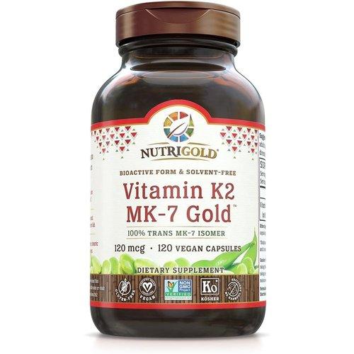 Nutrigold Nutrigold Vitamin K2 MK-7 Gold, 60vc