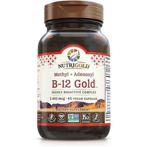 Nutrigold Nutrigold B-12 Gold, 60vc