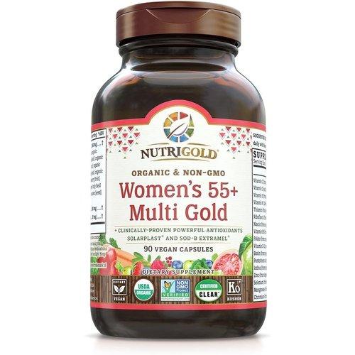 Nutrigold Nutrigold Women's 55+ Multi Gold, 90vc