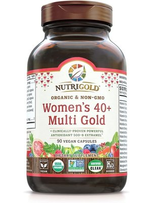 Nutrigold Nutrigold Women's 40+ Multi Gold, 90vc
