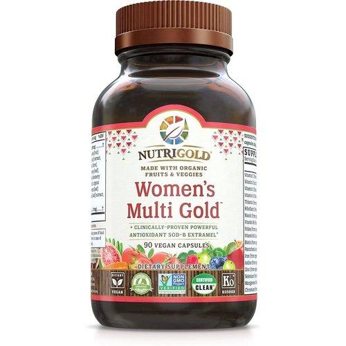 Nutrigold Nutrigold Women's Multi Gold, 90vc