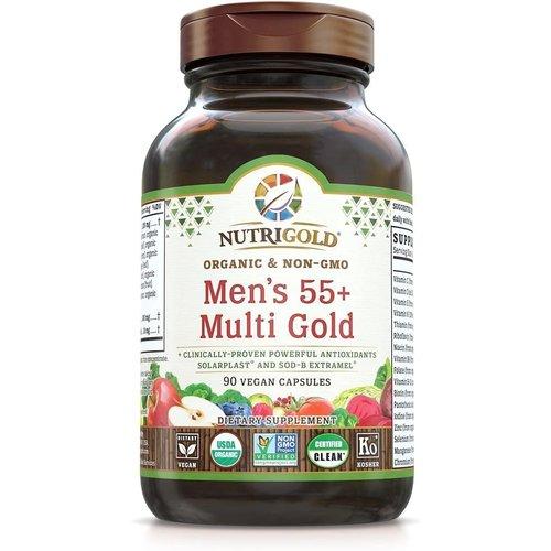 Nutrigold Nutrigold Men's 55+ Multi Gold, 90vc