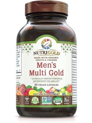 Nutrigold Nutrigold Men's Multi Gold, 90vc