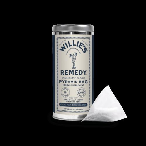 Willie's Remedy Willie's Remedy Hemp-Infused Breakfast Blend Tea Tin, 1.2oz