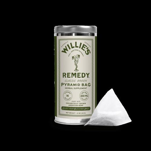 Willie's Remedy Willie's Remedy Hemp-Infused Green Tea Tin, 1.2oz