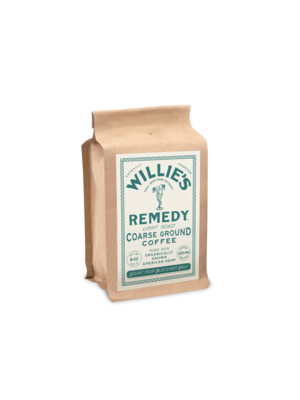 Willie's Remedy Willie's Remedy Light Roast Ground Hemp Coffee, 8oz