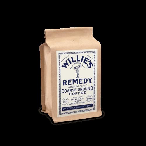 Willie's Remedy Willie's Remedy Medium Roast Ground Hemp Coffee, 8oz