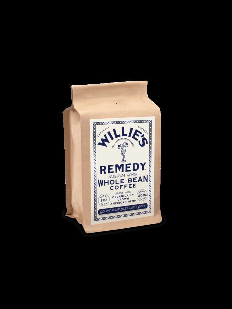 Willie's Remedy Willie's Remedy Medium Roast Whole Bean Hemp Coffee, 8oz
