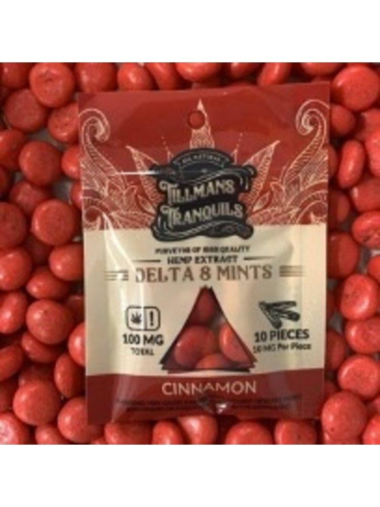 Tillman's Tranquils Tillman's Tranquils Delta 8 THC Mints, Cinnamon, 10mg, 10ct